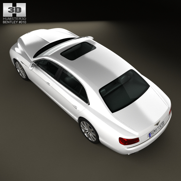 Bentley Flying Spur 2014 3D Model MAX OBJ 3DS FBX C4D LWO
