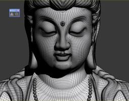 3D GUAN YIN Buddha