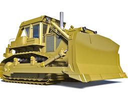 Bulldozer Komatsu D355A-3 3D model