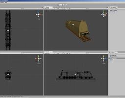 Panzerlok unitypackage 3D model
