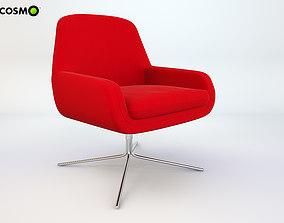 Armchair Coco-Swivel 3D model