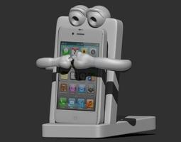 smartphone holder 3d printable model