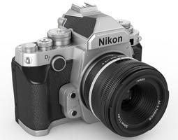 3d nikon df digidal camera
