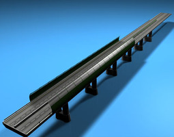 Highway viaduct 3D