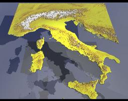Italy 3d
