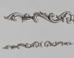 3D print model Horizontal decor elements