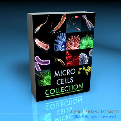 Micro cells models collection