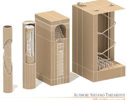 Nuke barriers 3D model
