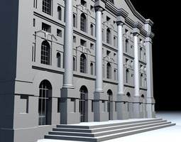 3D model Piazza affari