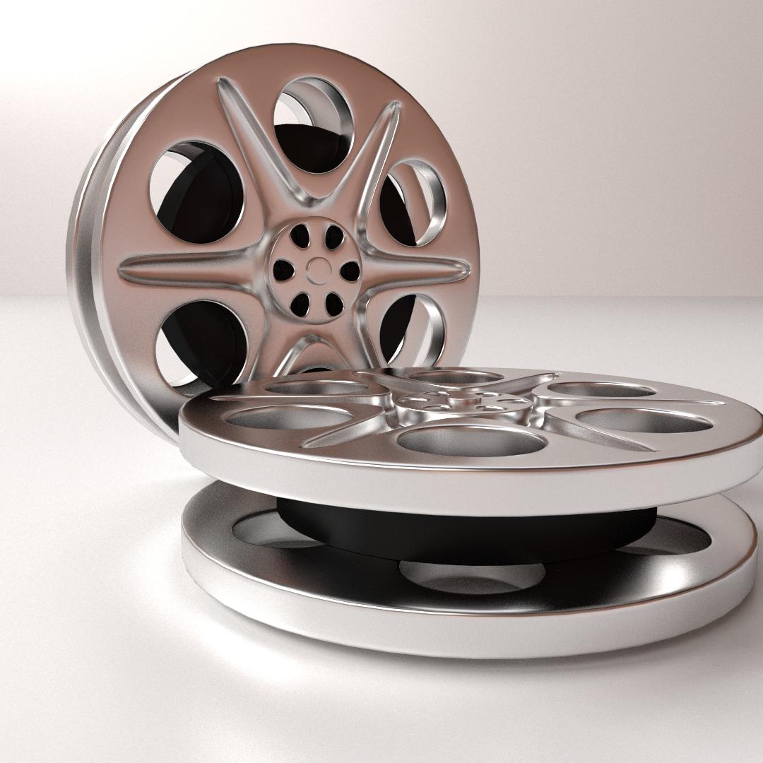 Film reel 3d cgtrader film reel 3d model 3ds fbx blend dae 2 thecheapjerseys Choice Image