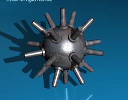 3D model Submarine bomb