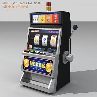 Slot machine 3d model best online poker site for australian players