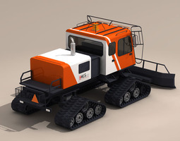 Snowcat1 3D Model