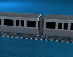 subway train 2 3d model