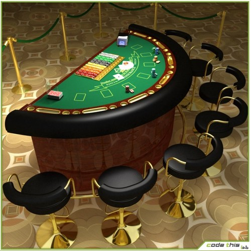 roulette 3d model free download