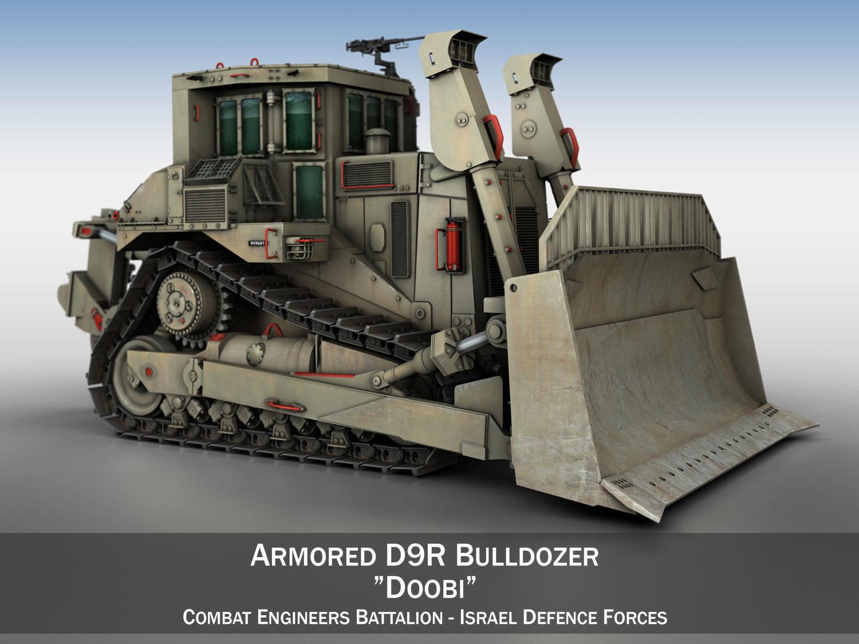 Armored D9R Bulldozer Doobi