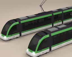 tramway 3d model obj 3ds c4d dxf