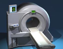 Magnetic resonance scanner 3D Model