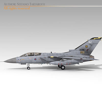 tornado adv raf 3d model obj mtl 3ds fbx c4d dxf dae 1