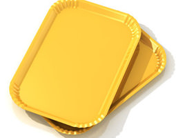 Tartlets tray 3D model