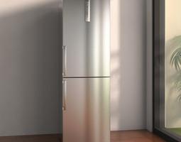 bosch bottom freezer refrigerator 3d