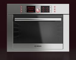 bosch built-in combination oven 3d
