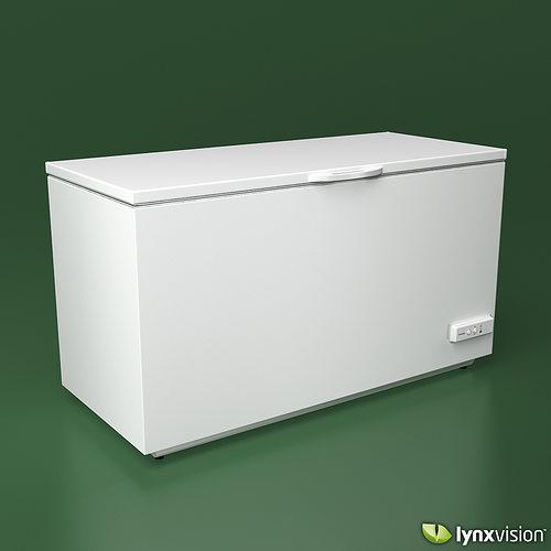 electrolux deep freezer electrolux chest freezer 3d model max obj fbx dwg mtl 2 deep