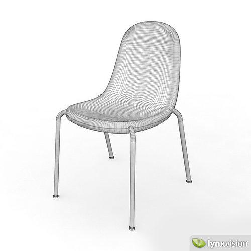 ... Butterfly Chair By Karim Rashid 3d Model Max Obj 3ds Fbx Mtl 4