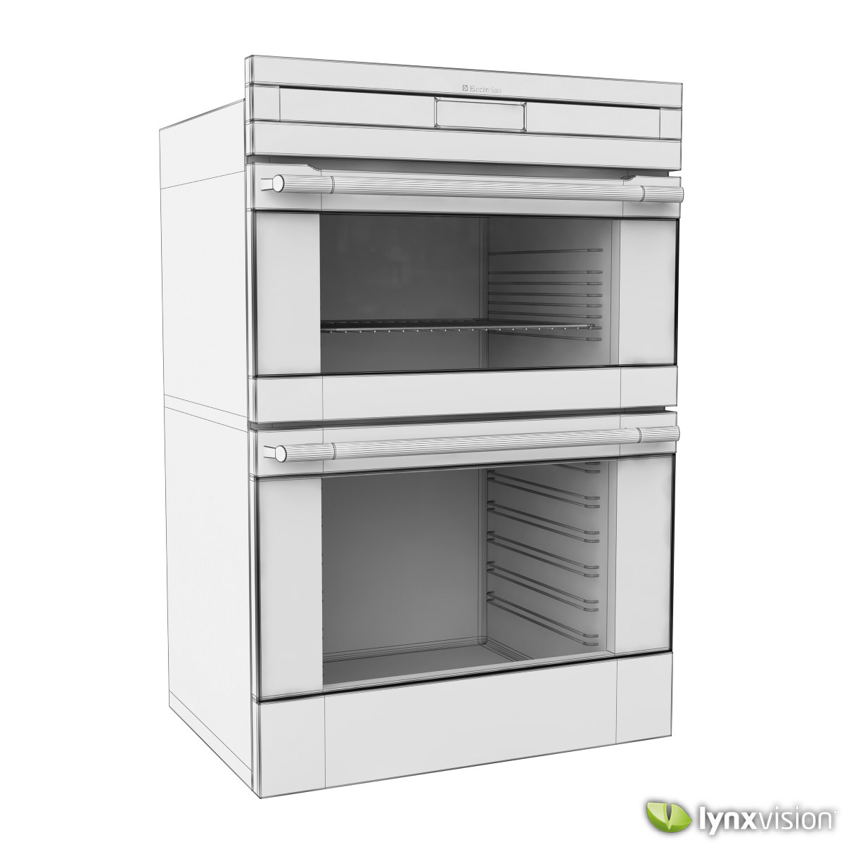 Electrolux Digital Double Oven 3D | CGTrader