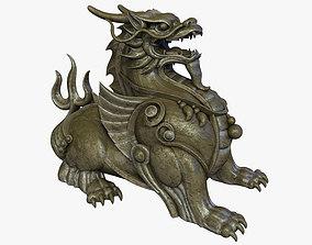 Chinese Supernatural Beast Pixiu 3D asset