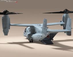 v-22 osprey us marines 3d