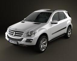 Mercedes-Benz ML class 3D model