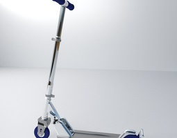 Push Scooter 3D Model
