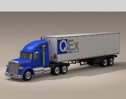 3d us freight truck