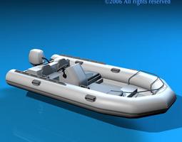 zodiac boat 3d