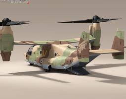 3D V-22 Osprey IAF