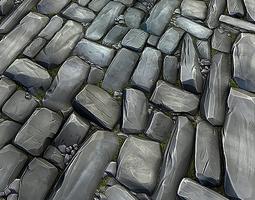 Stone Floor Texture Pack 3D model