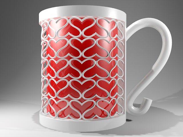 coffe love 3d model 3dm 1