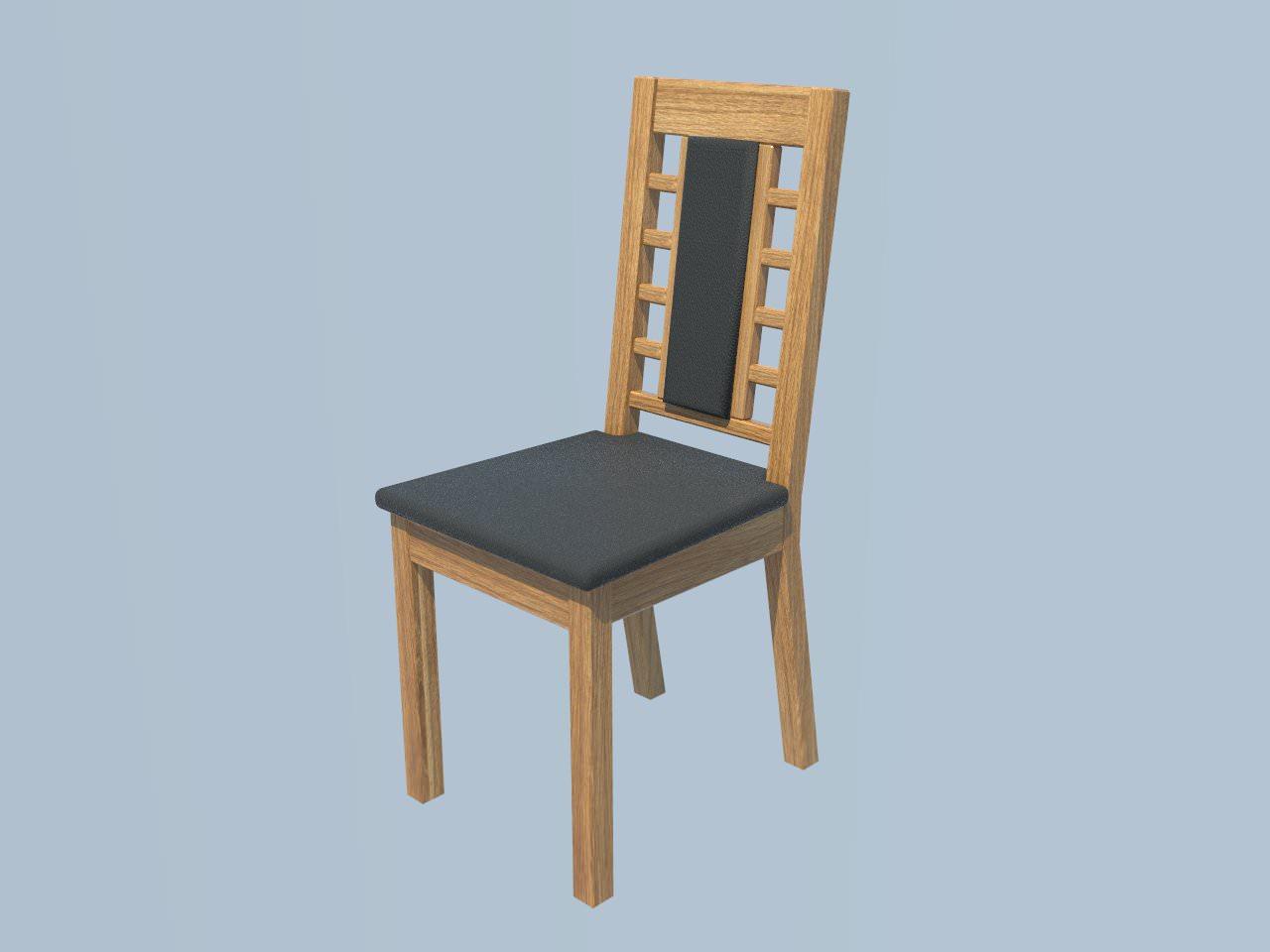 oak dinnig chair