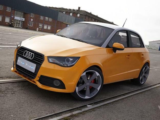 Audi A1 Sportback orange