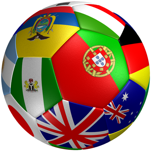 Soccer Ball Flag 3d Model Cgtrader
