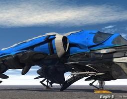 3D model Eagle 5 Transport