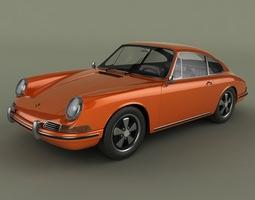 3d model porsche 911 901