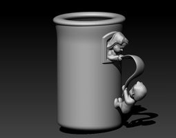 Romeo Juliet Cup 3D Model