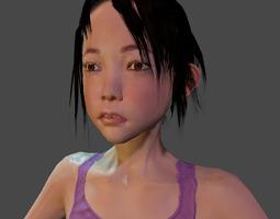 Akari 3D asset