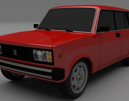 3D model Lada Riva