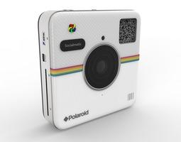 polaroid socialmatic 3d model max obj 3ds fbx c4d