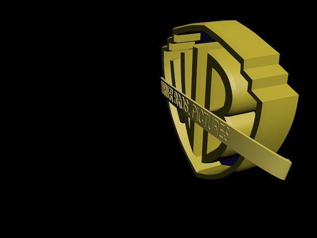 warner bros logo 3d model max 3ds mtl 5