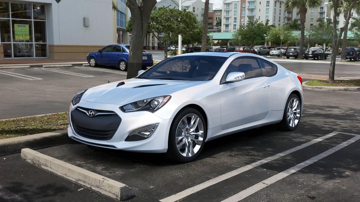 3d Hyundai Genesis Coupe 2014 Cgtrader
