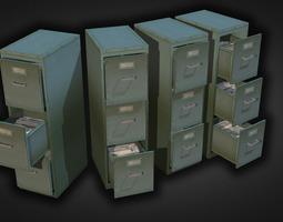 File Cabinet 3D asset